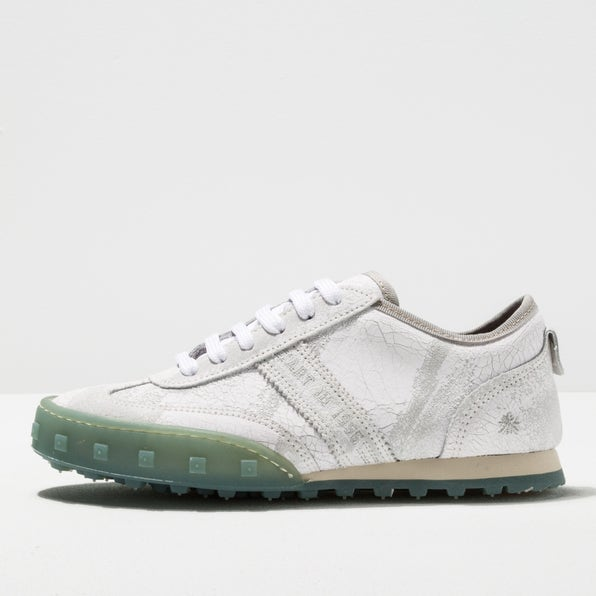 1117F SUEDE PAINTED WHITE/CROSS SKY