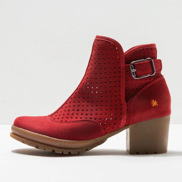 1223 MICRO SUEDE RED/ CAMDEN