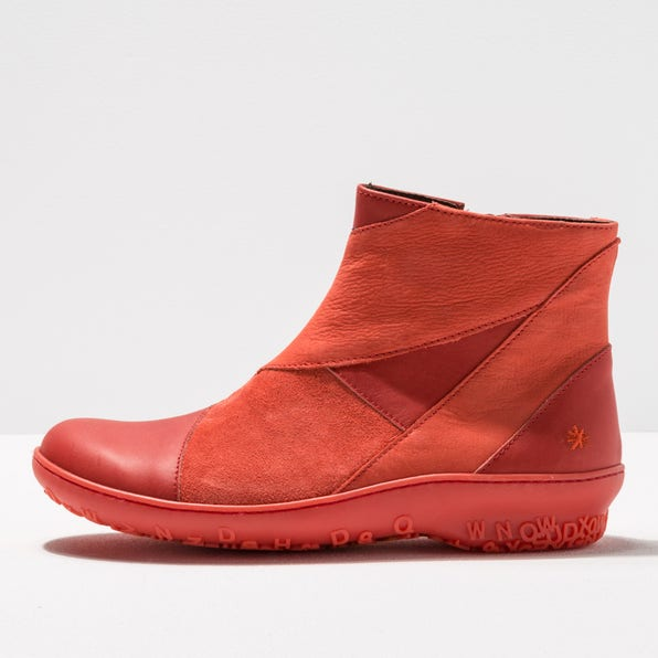 1434 MULTI LEATHER CORAL/ ANTIBES