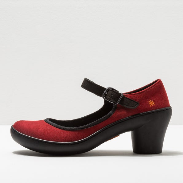 1452 MICRO SUEDE RED / ALFAMA