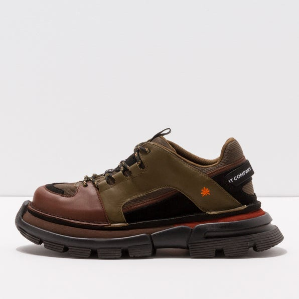 1650 MULTI LEATHER KAKI-BROWN / ART CORE 1