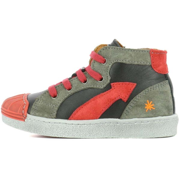 A060 STAR-LUX SUEDE BLACK-GRAFITO / SPLIT