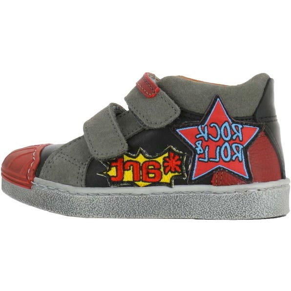 A069 STAR-LUX SUEDE BLACK-GRAFITO / SPLIT