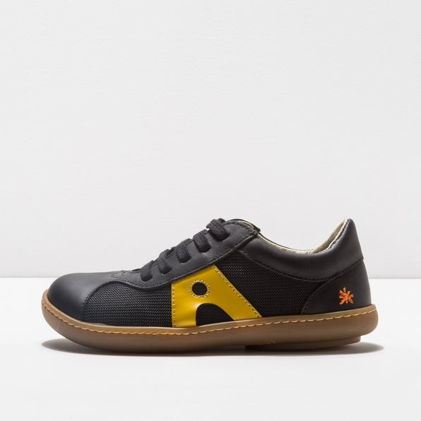 A707S MULTI LEATHER BLACK-YELLOW/ KIO